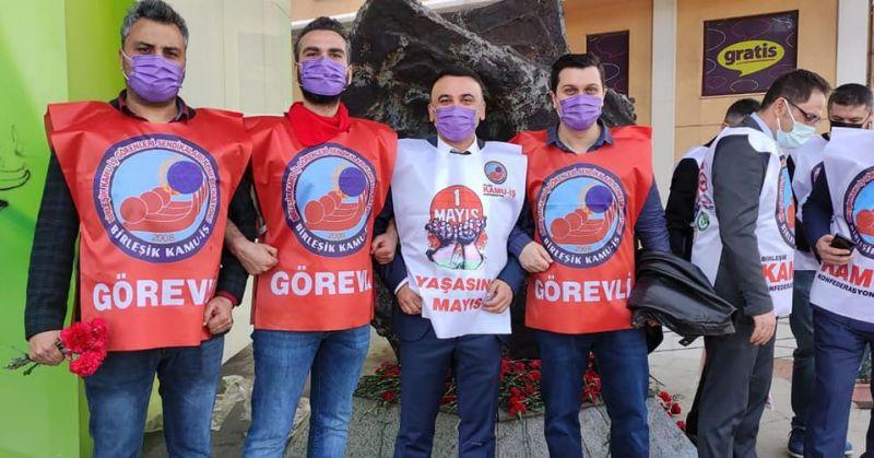 1 Mayıs 2021 Taksim Meydanındaydık